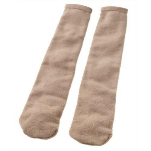 寝巻きの上から履く 足のお布団 キャメル