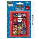 3DS用 妖怪ウォッチ カードケース12 レッド