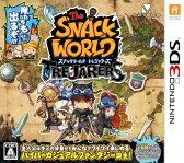 3DS スナックワールド トレジャラーズ レベルファイブ