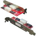 変換名人 PCIブラケット用SATA端子 PCIB-SATA2