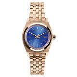 NIXON 腕時計 THE SMALL TIME TELLER ROSE GOLD COBALTスモール タイムテラー ローズゴールド コバルト  NXS-NA3991748-00 レディース