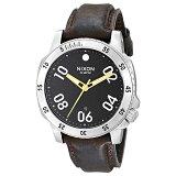 NIXON(ニクソン)腕時計 THE RANGER LEATHER BLACK BROWN(レンジャーレザー ブラック ブラウン) NXS-NA508019-00 メンズ