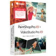 コーレル PaintShop Pro X9+VideoStudio Pro X9アカデミ