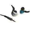 UPQQ-music QE80 QMUSICQE80BG カナル型イヤホン ブルーグリーン