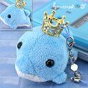王冠キラキラ オーシャンパラダイス携帯ストラップ(イルカ/ブルー)の価格を検索