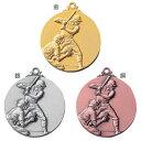 ASACO(アサコ)LMメダル 野球 LM-7027 直径60mm【Medals】