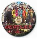 シネマコレクション ロック『ビートルズ《SGT Peppers》』缶バッジ/エンタメグッズ