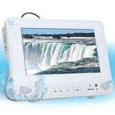 防水テレビ ポータブルDVDプレーヤー フルセグ搭載 DL-MWF09 アカート AKART α-DULAN 15800