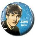 ビートルズ/JOHN(PR-PB1740)1インチ缶バッジ