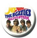 ビートルズ/HEY JUDE(PR-PB1735)1インチ缶バッジ