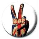 1インチ缶バッジ《The Who(UNION JACK PEACE)》