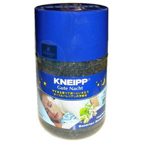 クナイプ グーテナハト バスソルト ホップ&バレリアン 500g(入浴剤 バスソルト)