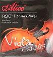 ALICE A904 Viola Strings ヴィオラ用セット弦 アリス ビオラ用セット弦 スチールコア/ニッケルシルバー巻き