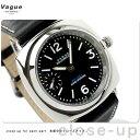 ヴァーグウォッチ 腕時計 メンズ 手巻き スモールセコンド スーマラン ブラック レザーベルト VAGUE WATCH Co. SO-H-001