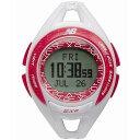 ニューバランス 腕時計 ランニングウォッチ EX2-903-004 ホワイト×ピンク