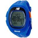 ニューバランス new balance 腕時計 ランニング Bluetooth ブルートゥース ハートレートチェストストラップ付 ブルー メンズ EX2-915-003