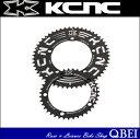 (265561) K2-KTYPE (K2 Kタイプ) ROADダブルセット:34T/110 ブラック(Q052722)【チェーンリング】