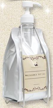 (化粧品)マカダミアナッツオイル1000mlオールインワンダブルセット