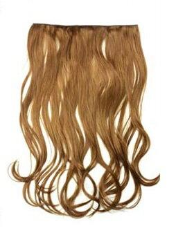Never Ever Wig 楽々エクステンション ゆる巻きロング 耐熱襟足ウィッグ ワンタッチ つけ毛 EX11