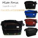 Misto Forza/ミストフォルツァ FMI03 ショルダーバッグ ブラック メンズ カジュアル 大人 タブレット 収納