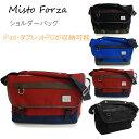 Misto Forza/ミストフォルツァ FMI03 ショルダーバッグ レッド メンズ カジュアル 大人 タブレット 収納