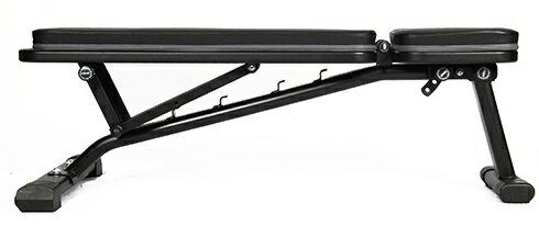 リーディングエッジ LEADINGEDGE マルチポジション フラットベンチ インクライン デクライン対応 ダンベル トレーニングベンチ 折りたたみ式 LE-B80
