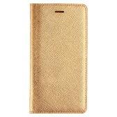 iPhone6 Plus Saffiano Flip Case ゴールド LB4712i6P ゴールド グッズ