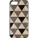 iPhone7 天然貝ケース Pyramid ブラックフレーム I8060i7 グッズ