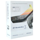 PreSonus Studio One 3 Professional日本語版(USB edition)