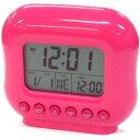 SMARTEK(スマーテック) デジタル置き時計 温度表示 レインボーアラームクロック ピンクML-211-PK