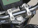 シフトアップ XR50/100用 ビレットトップブリッジ(クランプセット)