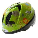 徳島双輪 自転車用キッズヘルメット TETE スプラッシュハート アニマル グラスグリーン Sサイズ