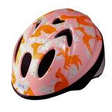 徳島双輪 自転車用キッズヘルメット TETE スプラッシュハート バンビ ピンク Sサイズ