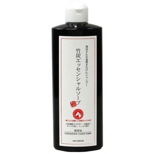ネオナチュラル 池田さんの竹炭エッセンシャルソープ 300ml