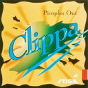 STIGA クリッパ Clippa 厚 赤[ART.NO.9808-2]表ソフトラバー