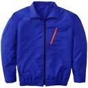 空調服 長袖ブルゾンタイプ(作業服) ワイドファン付き Lサイズ ブルー P-500BNC04S3