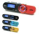 DT-SP17BK | MP3/WMAオーディオプレーヤー FMラジオ搭載 microSDHC対応 クリップ付 ブラック