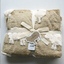 SHEEP シープ ブランケットS BEIGE:ベージュ T111-7 ACCENT