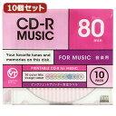 VERTEX CD-RAudio 80分 10P カラーミックスストライプデザイン10色 インクジェットプリンタ 10CDRA.DESMIX.80VXCAX10の価格を調べる