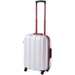 HIDEO WAKAMATSU マスキュラーレッドフレーム ポリカーボネート製 TSAロックスーツケース Sサイズ 85ー75199