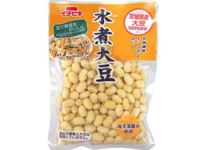 国産水煮大豆     155g