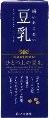マルサン ひとつ上の豆乳成分無調整豆乳 200ml
