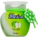 クルマの消臭ポット グリーンアップル 150g