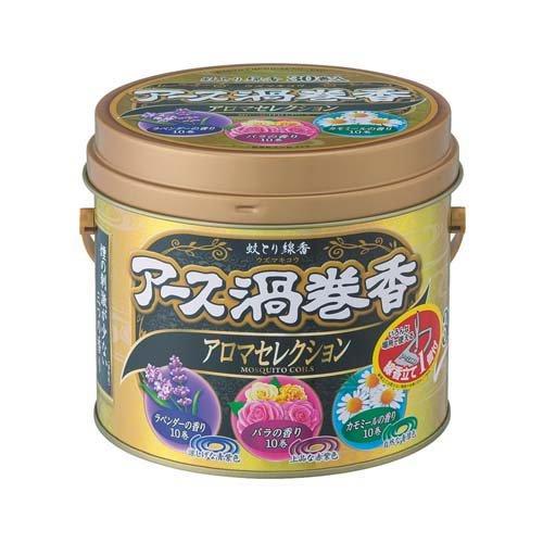 アース渦巻香 アロマセレクション 30巻缶入