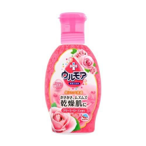 ウルモア 保湿入浴液 クリーミーローズの香り 600ml(入浴剤)