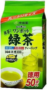 伊藤園 ワンポット緑茶TB 50P