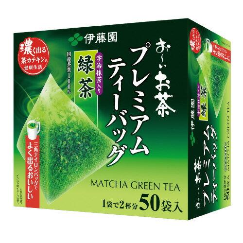 伊藤園 よく出るおいしいプレミアムティーバック 抹茶入緑茶 1.8X50