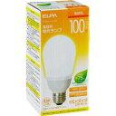 ELPA 電球形蛍光ランプ 100W形 E26 電球色 EFA25EL/21-A102H
