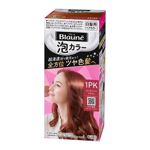 ブローネ 泡カラー 1PK ピンキッシュブラウン