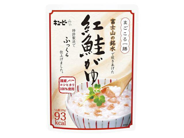QP まごころ一膳 富士山の銘水紅鮭がゆ 250g